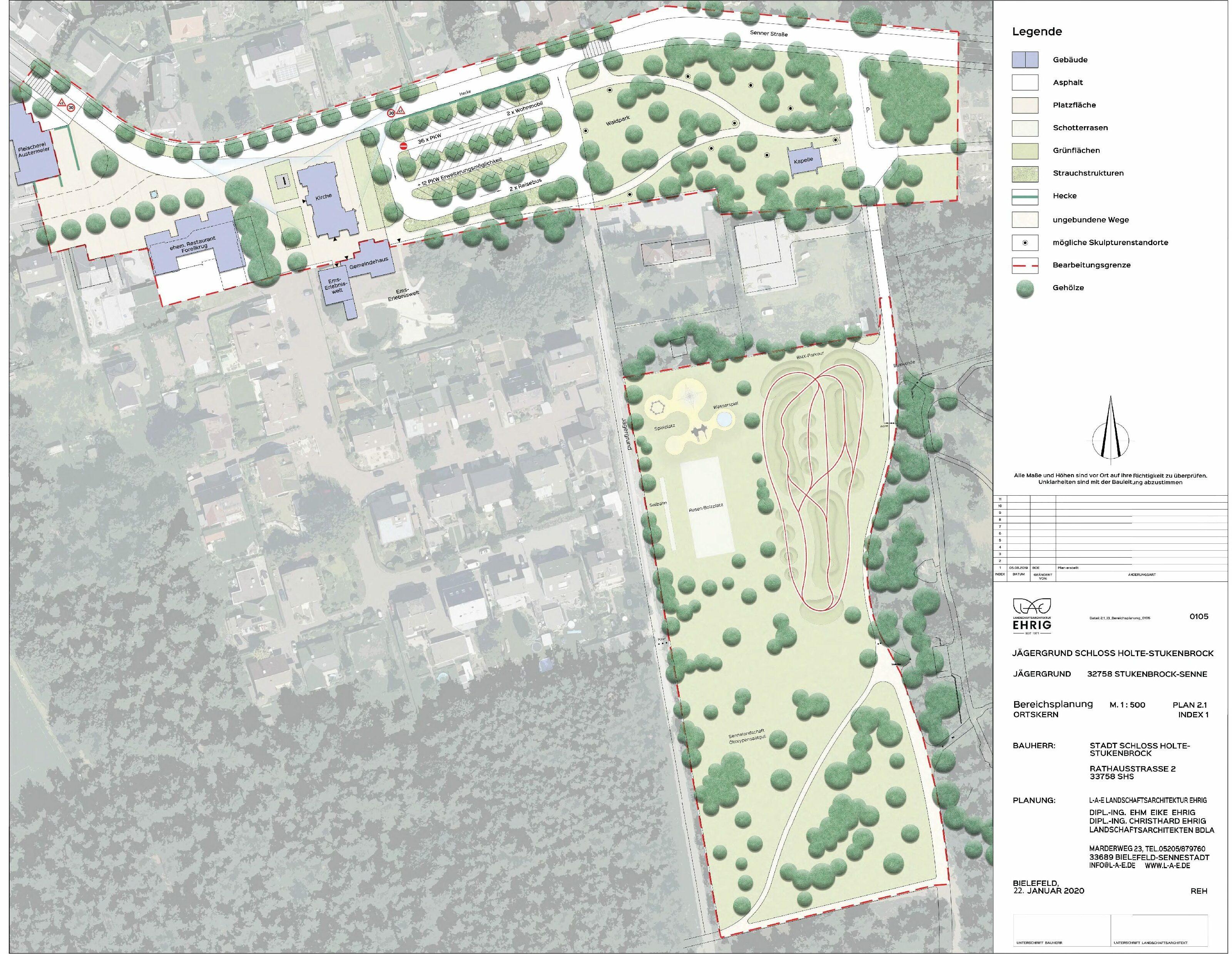 Rahmenplanung Jägergrund